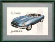 E Type Jaguar Car